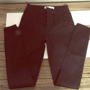 Black high waisted pants